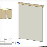 Projection Screen Wall 00356se