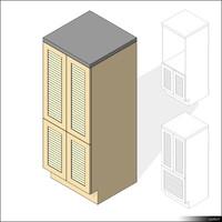 Kitchen Sideboard 00417se