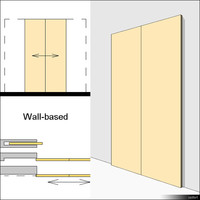 Door Sliding Double 00625se