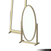 Floor Stand Mirror 01041se