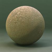 Maya Material Dry Cracked Sand Ground