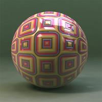 Maya Material Abstract Squares