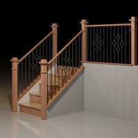 Diamond Spindle Railing