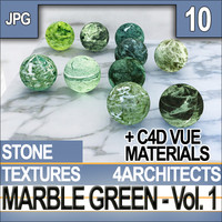 Marble Green Vol. 1 - Textures and Materials
