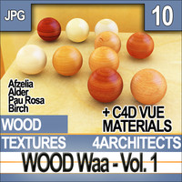 Wood Vol. 1 - Textures and Materials