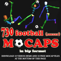 730 Fooball (soccer) Mocaps