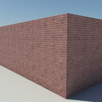 Brick_2_Red - Procedural Red Brick - 3DS MAX 2010 - Mental Ray Material