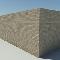Brick_2_Tan - Procedural Tan Brick - 3DS MAX 2010 - Mental Ray Material