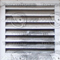 Dirty Aluminum exterior vent