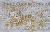 Rusty metal panel
