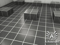 Tile_1_Grey - Procedural Marble Tile Material - 3ds Max 2010 Mental Ray