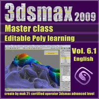Video Master Class 3dsmax 2009 Vol.6.1 english