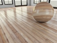 WoodFloor_2_LightGlossy - Wood Floor - 3DS Max 2010 - Mental Ray Shader