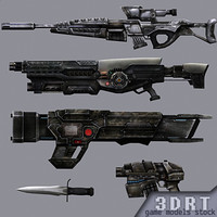 3DRT-Sci-Fi-Firearms-animated-demo