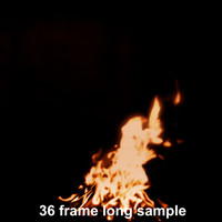 campfire looping sequence [89 frame]