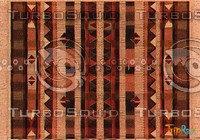 Rectangular carpet 075