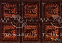 Rectangular carpet 077