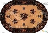 Oval carpet 081