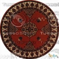 Round carpet 085