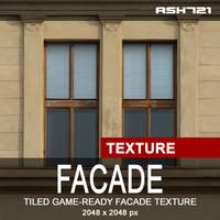 Facade Detail - Tiled Texture