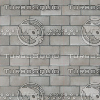 grey/brown tileable brick wall w/norm 2028 x 2048