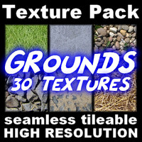 30 Grounds - High-Res Texture Pack