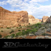 Redrock Mountains 002