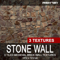 Stone wall texture pack