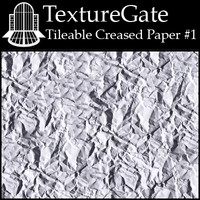 Tileable Creased Paper