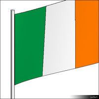 Flag-Ireland-Pole-00314se