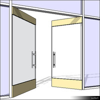 CurtWall-Door-Swing21-00487se
