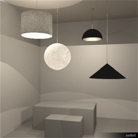 Lamp Ceiling Suspended 01017se