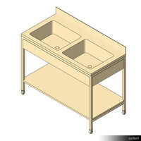 Commercial Sink Unit 01059se