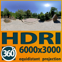 spherical hdri 360 3d model