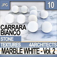 Marble White Vol. 2 - Textures & Materials [Carrara Bianco]