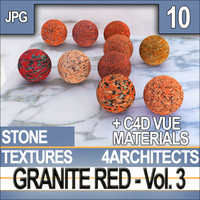 Granite Red Vol. 3 - Textures & Materials