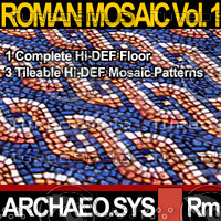 Roman Mosaic Vol. 1 - Textures