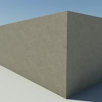 Concrete_1 - Concrete - 3DS MAX 2010 - Mental Ray Material
