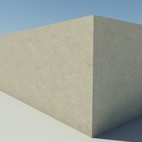 Concrete_1_Light - Concrete - 3DS MAX 2010 - Mental Ray Material