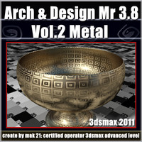 Arch e Design Collection Vol.2 Mental ray 3.8