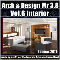 Arch e Design Collection Vol.6 Mental ray 3.8