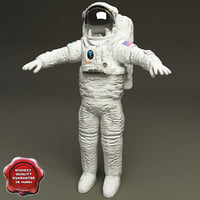 nasa space suit 3d model