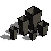 Square Planter - 3D View - Isometric - Square Planters.png