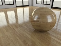 WoodFloor_1 - Wood Floor - 3DS Max 2010 - Mental Ray Shader