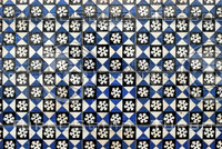 Portuguese glazed tiles 001