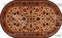Oval carpet 080
