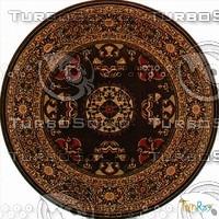 Round carpet 090