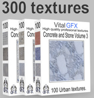 Concrete & Stone Mega pack