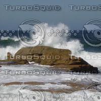 Rocks And Ocean