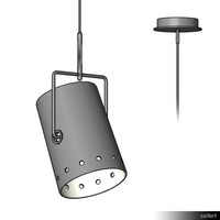 Lamp Ceiling Suspended 00139se